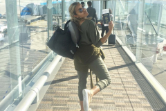Leaving Paris